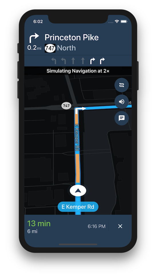 Mapbox Navigation SDK for iOS Reference