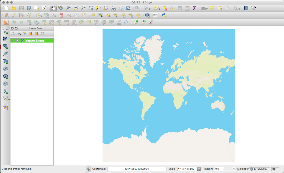 completed qgis map with Mapbox style